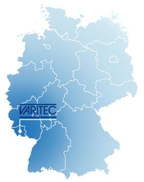 Deutschlandkarte Varitec