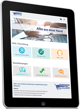 Bestellmanagement System myVARITEC