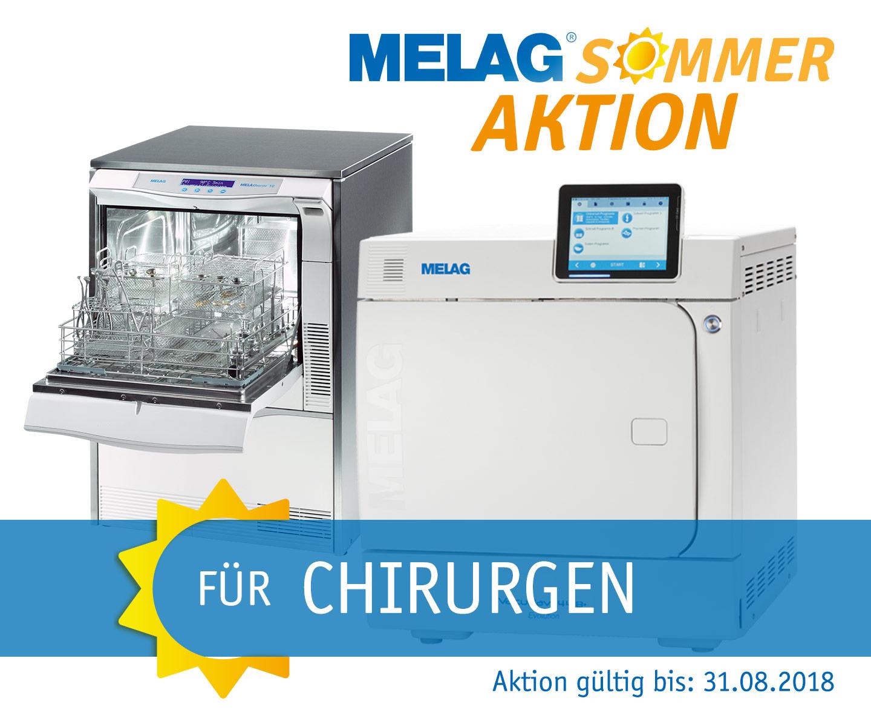 Melag Sommer-Aktion für Chirurgen