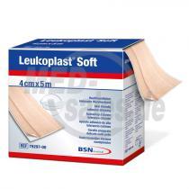 Leukoplast® Soft Wundverband für empfindliche Haut 5 m x 4 cm