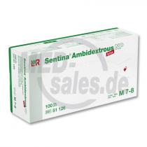 Sentina® Ambidextrous Latex-Handschuhe