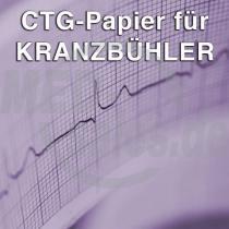 CTG-Papier für Kranzbühler Fetacontrol / Fetasafe 2-10