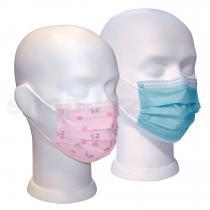 Einmal OP-Maske für Kinder, Packung mit 50 Stück Masken