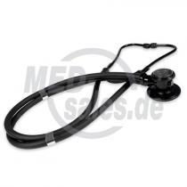 RAPPORT Doppelkopf-Stethoskop Black Line