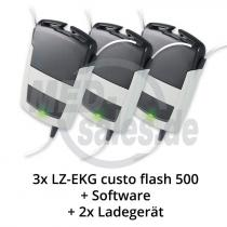 custo flash 500 Langzeit EKG-Rekorder im Vorteils-Paket