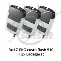 custo flash 510 Langzeit EKG-Rekorder im Vorteils-Paket
