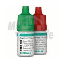B.BRAUN Omnitest® 5 Kontrolllösung (M+H)