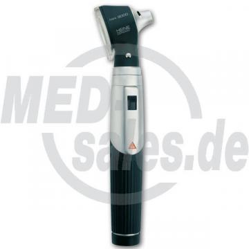 HEINE mini 3000® Otoskop silber/schwarz, inkl. Batteriegriff