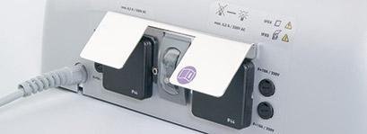 Steckdosen für medi-matic